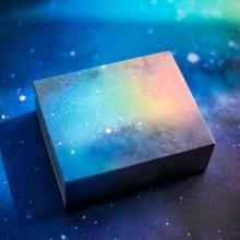 20pcs/lot Cosmic Sky Printing Hard Paper Candy Box Watch Gift Box Baby Shower Birthday Wedding Party Favors Candy Boxes 20pcs lot new design drawer paper candy chocolate boxes baby shower gift packaging box birthday wedding party favor box