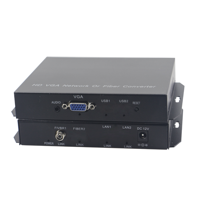 High Quality Vga Extender Optical Fiber Converters With