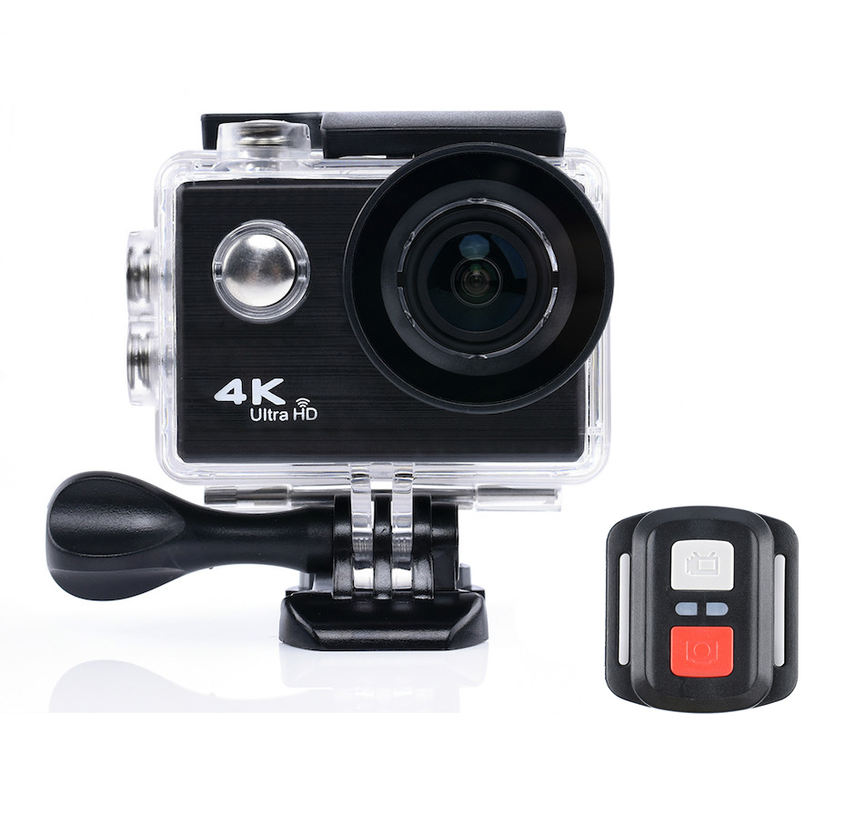 лучшая цена Tekcam Action Camera 4K Helmet Camera 25FPS 12MP Ultra HD 1080P Real 4K Mini Camera