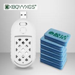 2 в 1 ультразвуковой и пткс нагревательный элемент USB убийца anti moustique Пешт Отклонить управления 30 шт. комаров ломтики