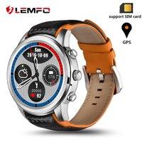 LEMFO LEM5 Smartwatch Смарт часы Для мужчин Водонепроницаемый Android 5,1 Поддержка Bluetooth, Wi Fi 3g gps скачать приложение Смарт часы