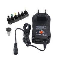 3V 4,5 V 5V 6V 7,5 V 9V 12V 2A 2.5A преобразователь переменного тока в постоянный регулируемый Мощность адаптер Универсальный Зарядное устройство питани...