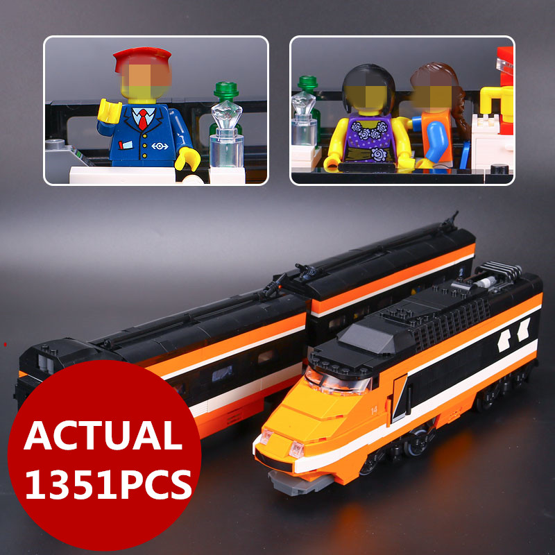 LEPIN 21007 Series Horizon Express Model Building Kit 1351Pcs Blocks assemble Bricks Compatible Children birthday Toys 10233 lepin 663pcs ninja killow vs samurai x mech oni chopper robots 06077 building blocks assemble toys bricks compatible with 70642