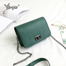 YBYT Brand 2018 New PU Leather Women Crossbody Bags Ladies Fashion Casual Messenger Shoulder Bag Clutch
