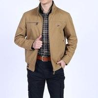 2018 Новый Демисезонный хлопок Реверсивный куртки Для мужчин прямые Повседневное Азии Размеры 5xl обе стороны носить пальто Для мужчин Бизнес