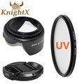 KnightX UV Фильтр Объектива ND Kit Цветок ДЛЯ Pentax Sony Nikon Canon 1100D 600D 550D 500D 67 ММ 100d d5300 d3100 700d t5i t3i