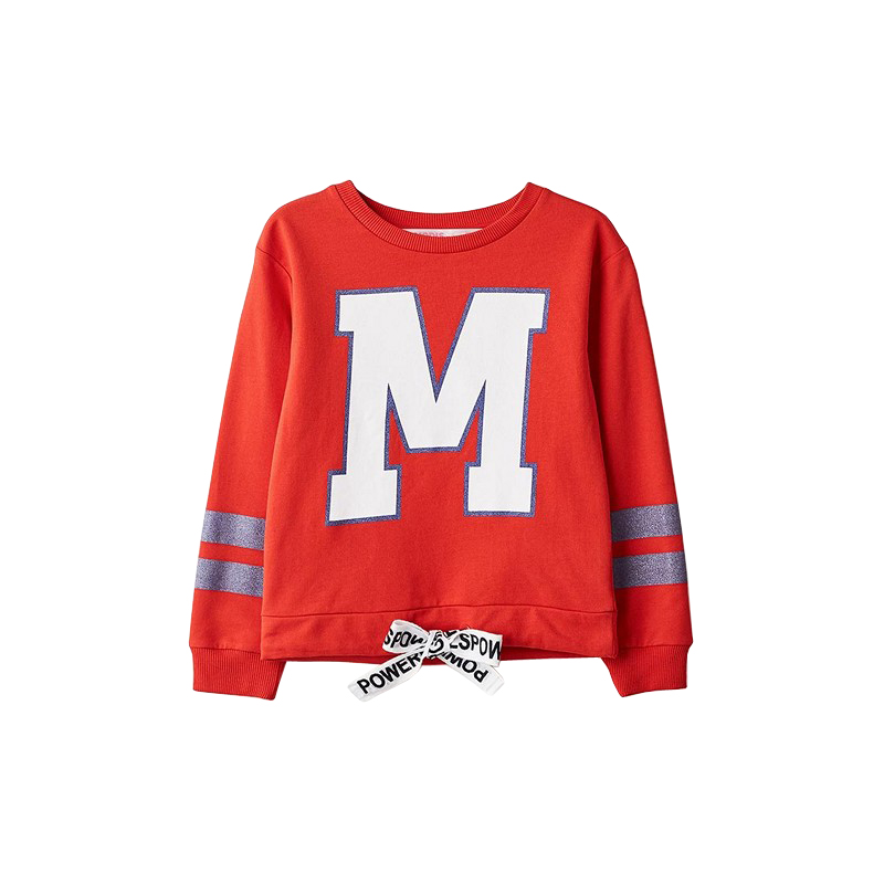 Hoodies & Sweatshirts MODIS M182K00147 for girls kids clothes children clothes TmallFS hoodies
