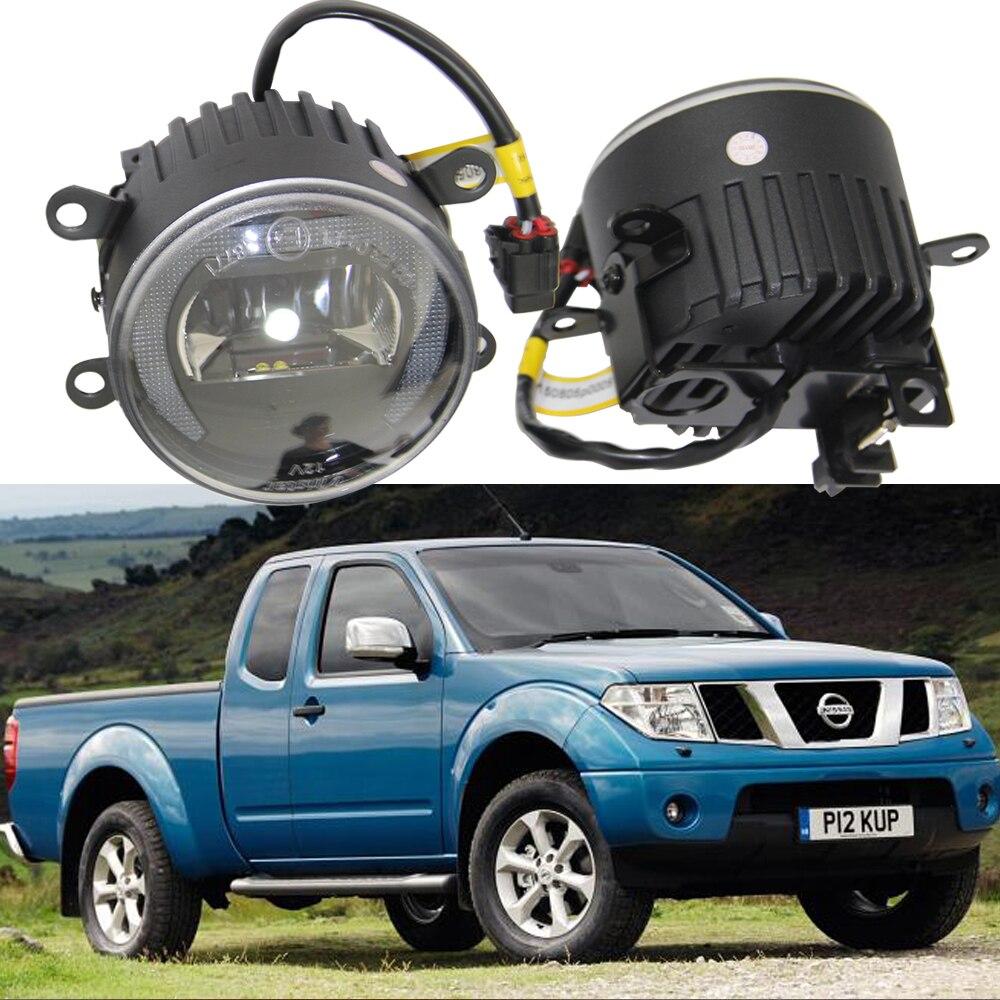 10W Кри чип автомобилей Противотуманные фары лампы для Pathfinder 2005 CABSTAR границы 2009-2013 2 2006 замена OEM DRL дневного комплект