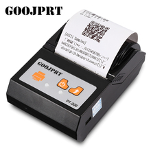 GOOJPRT PT200 MINI Printer Portable Wireless Bluetooth Thermal Printer 58mm 80mm/S 1500mAh Thermal Line Printing For Android IOS