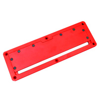 Adjustable Aluminium Insert Plate for Table Saw Electric Circular Saw Flip Cover Plate Flip Floor Table Special Cover Plate