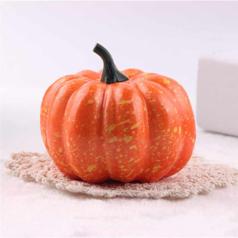 Calabaza decorativa, accesorios de Halloween, verduras falsas, juego de simulación, apoyos para alimento, tienda, fiesta, Halloween, jardines de infancia, decoraciones