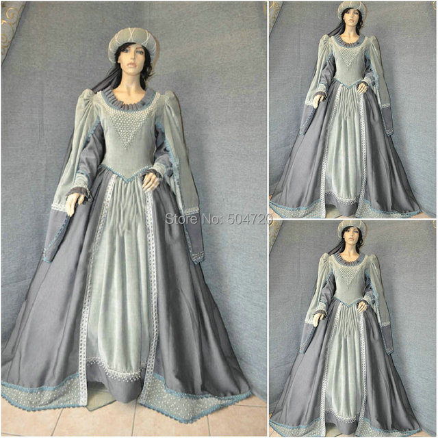 sc-633 Victorian Gothic Civil War Southern Belle loose Ball Gown Dress  Halloween Vintage dresses Custom made 2655485fa732