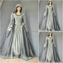 sc-633 Victorian Gothic/Civil War Southern Belle loose Ball Gown Dress Halloween Vintage dresses Custom made