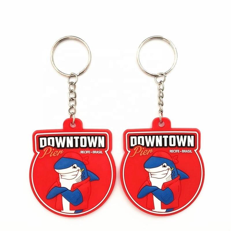 Custom Make Soft PVC Keychains for Advertising Gift CS KR 028