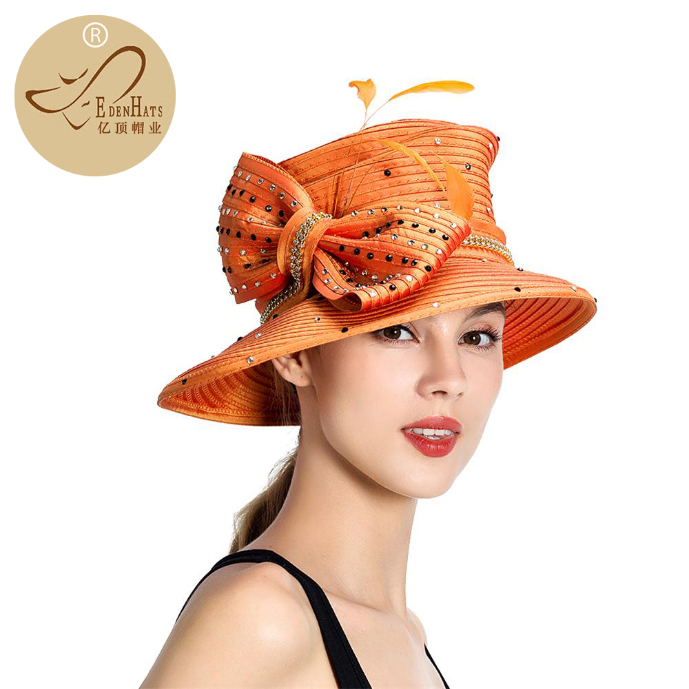 Ladies New Design Crazy Fancy Church Hats S10 1853-in Fedoras from ... a063bc2ddad