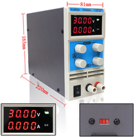 Four Display Laboratory Power Supply Adiustable Mini Switching Power Supply Uninterruptible 0 30V 5A