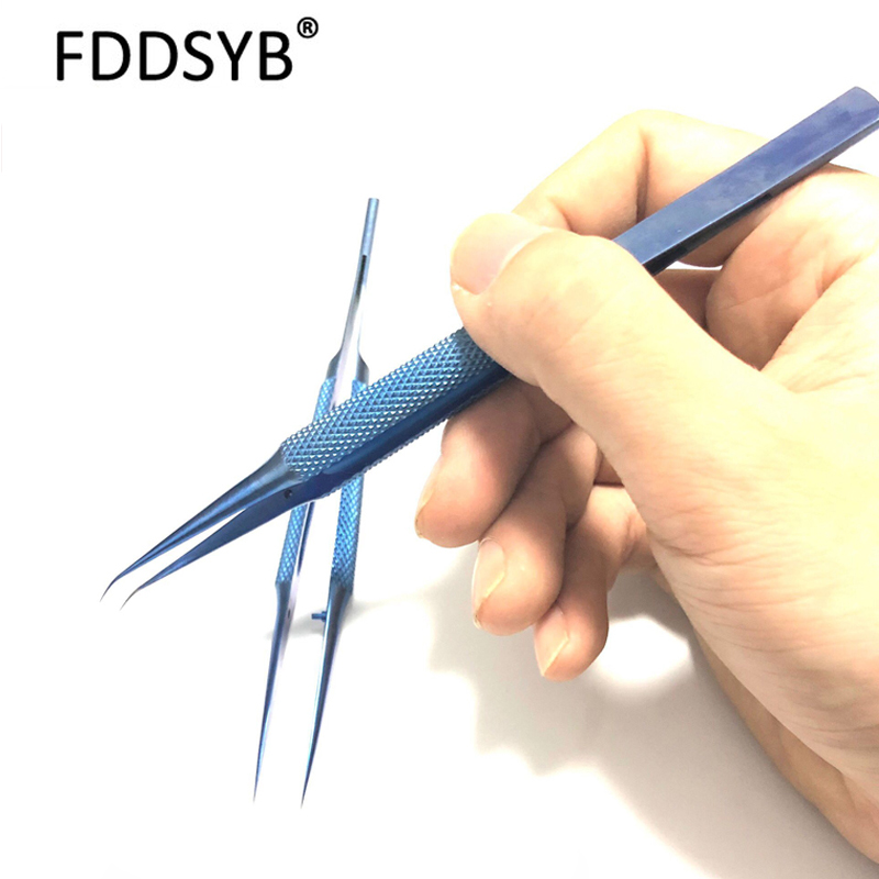 Titanium Alloy Tweezers Professional Maintenance Tool 0.15mm Edge Precision Fingerprint Tweezers Apple Main Board Copper Wire