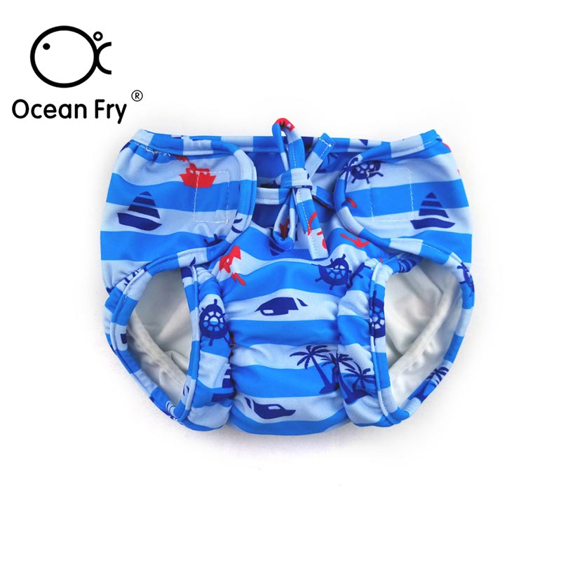 Baby Boy Swimming Pants Newborn Girl Swimwear Toddler Infant Nappy Waterproof Elasticity Pants Swimming Diapers 2019 Wholesale