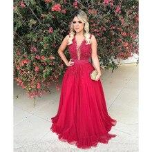 9ced00843 2019 Sexy botones ver a través de la Noche vestidos con arco con cuentas  apliques escote Formal Prom Fiesta Vestidos