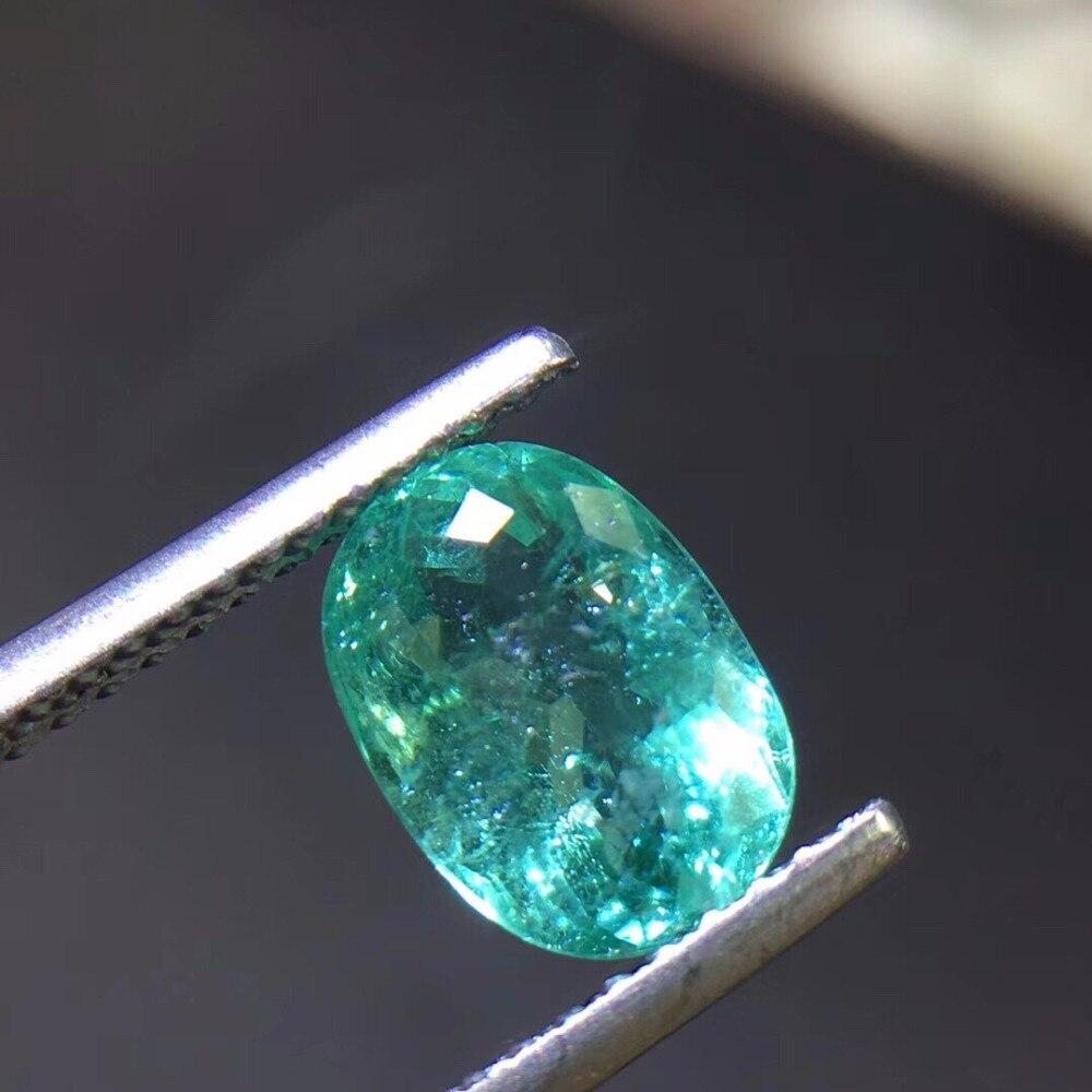 1.55ct pierres précieuses de Tourmaline Paraiba bleu néon naturel pierres précieuses en vrac