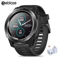 """Tüketici Elektroniği'ten Akıllı Saatler'de Yeni Zeblaze VIBE 5 IP67 su geçirmez akıllı saat erkekler 1.3 """"IPS ekran kalp hızı giyilebilir cihazlar spor Bluetooth Smartwatch 2019"""