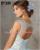 Joky Quaon Custom Made Sparkly Contas Cristais Jeweled Rosa Céu Azul Tule Princesa vestido de Baile Quinceanera Vestidos Para A Menina 2017