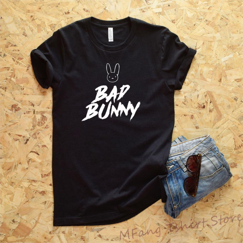 Navy Men Short Sleeve Size S-3XL Bad Bunny LGBT T Shirt Black