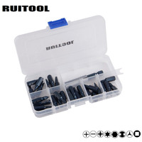 29pcs Electronic Screwdriver Bits Magnetic Phillips Torx Screwdriver Set With Extension Bit Holder Tool Box
