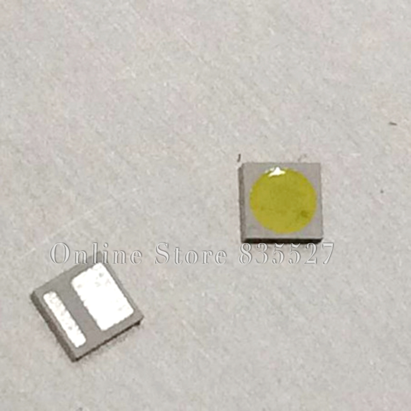 200pcs/lot 3030 1W 3V Pure White SMD LED LCD TV Backlight Lamp Beads Large Chip Light Emitting Diode AOT3030C