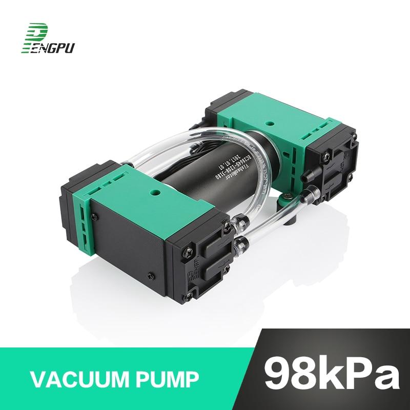 12V Negative Pressure Micro Vacuum Pump Speed Adjustable 24V Mini Air Pump Brushless Motor High Pressure Small Diaphragm Pump