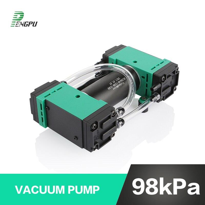 Adjustable Mini Air Blower : V negative pressure micro vacuum pump speed adjustable