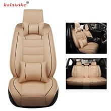 kalaisike leather universal car seat covers for Honda all model URV CRV CIVIC fit accord city XRV HRV jazz vezel Insight Spirior