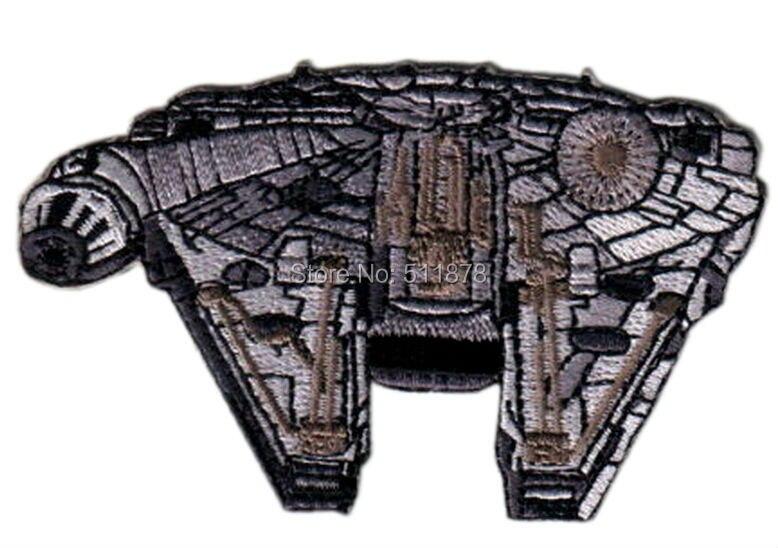3 5 Star Wars Millennium Falcon Patch TV Movie Series Uniform punk rockabilly applique iron on