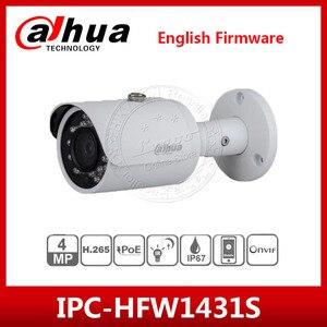 Сетевой видеорегистратор Dahua IPC-HFW1431S 4MP IP Камера IR30M IP67 IK10 P2P Камера заменить IPC-HFW1320S IPC-HFW1420S пуля Камера с логотипом