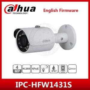 Image 1 - Dahua IPC HFW1431S 4MP kamera IP IR30M IP67 IK10 P2P kamera zastąpić IPC HFW1320S IPC HFW1420S kamera typu Bullet z logo