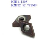 us735 כלי קרביד כלי 20PCS קרביד כלי DCMT11T308 / DCMT32.52 VP15TF / UE6020 / US735 פנימי מחרטה כלי כרסום קאטר NC כלי (1)