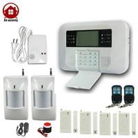 Dual Network Wireless GSM Telephone Line Auto Dial Home Burglar Alarm System