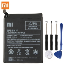 Xiao Mi Original Replacement Battery BM37 For Xiaomi 5S plus 5Splus Authentic Phone 3800mAh