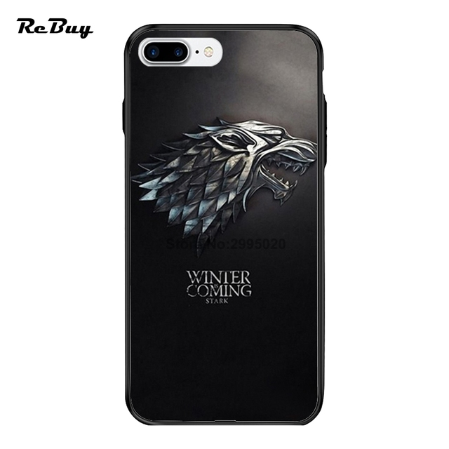 Game Of Thrones House Stark Wolf Symbol For Iphone Cases Pctpu For