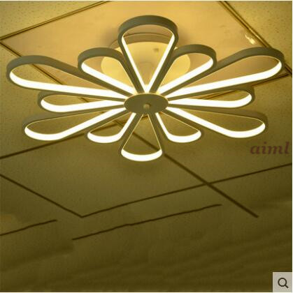 Flush Mount LED Ceiling Light Passionate Modern/Contemporary / Mini Style Living Room / Acrylic Blooming flowers 95-265V ceiling