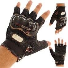 Мотоцикл Перчатки Pro байкер половина finger Гонки мотокросс мотоцикл luvas para motocicleta guantes перчатки Мужчины Грязи moto eldiven L