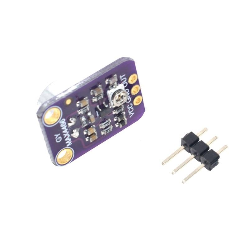 GY-MAX4466 Modulo amplificatore microfono per Arduino Raspberry Pi