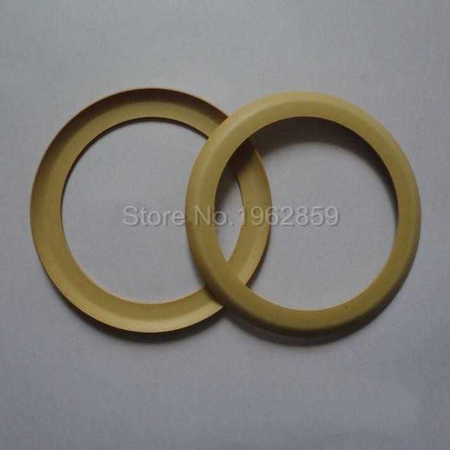 10pcs Pistons Rubber Ring Silent Oil Free 68*49*0.8mm 750W 63.7mm Air Compressor Use Dental Parts