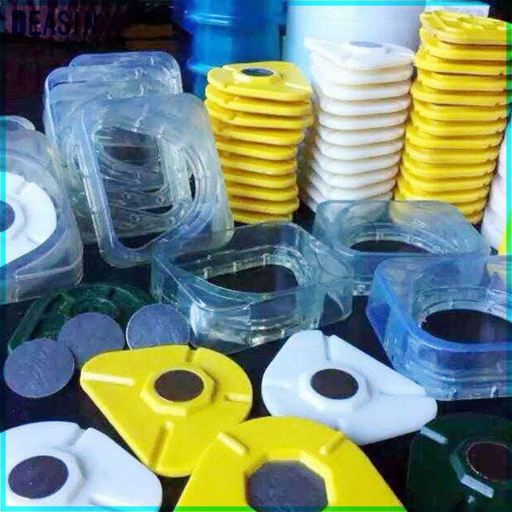 Dental Lab Magnetic Silicone Plaster Model Former Base Molds Full Arch Former Split Base