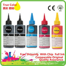 Warna Tinta Dye Premium For Canon PIXMA MG5440 MG5540 MG6440 Ip7240 MX924 IX6540 IX6840 Printer PGI 450 451 Ink Cartridge(China)