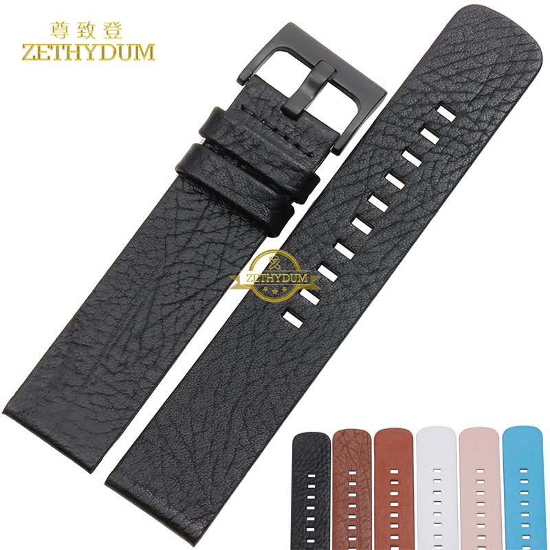 Genuine leather bracelet for MOTO 360S 360L 3602 Smart Watch strap+Tool  multicolor Watchband 22mm wristwatches band belt-in Watchbands from Watches  on