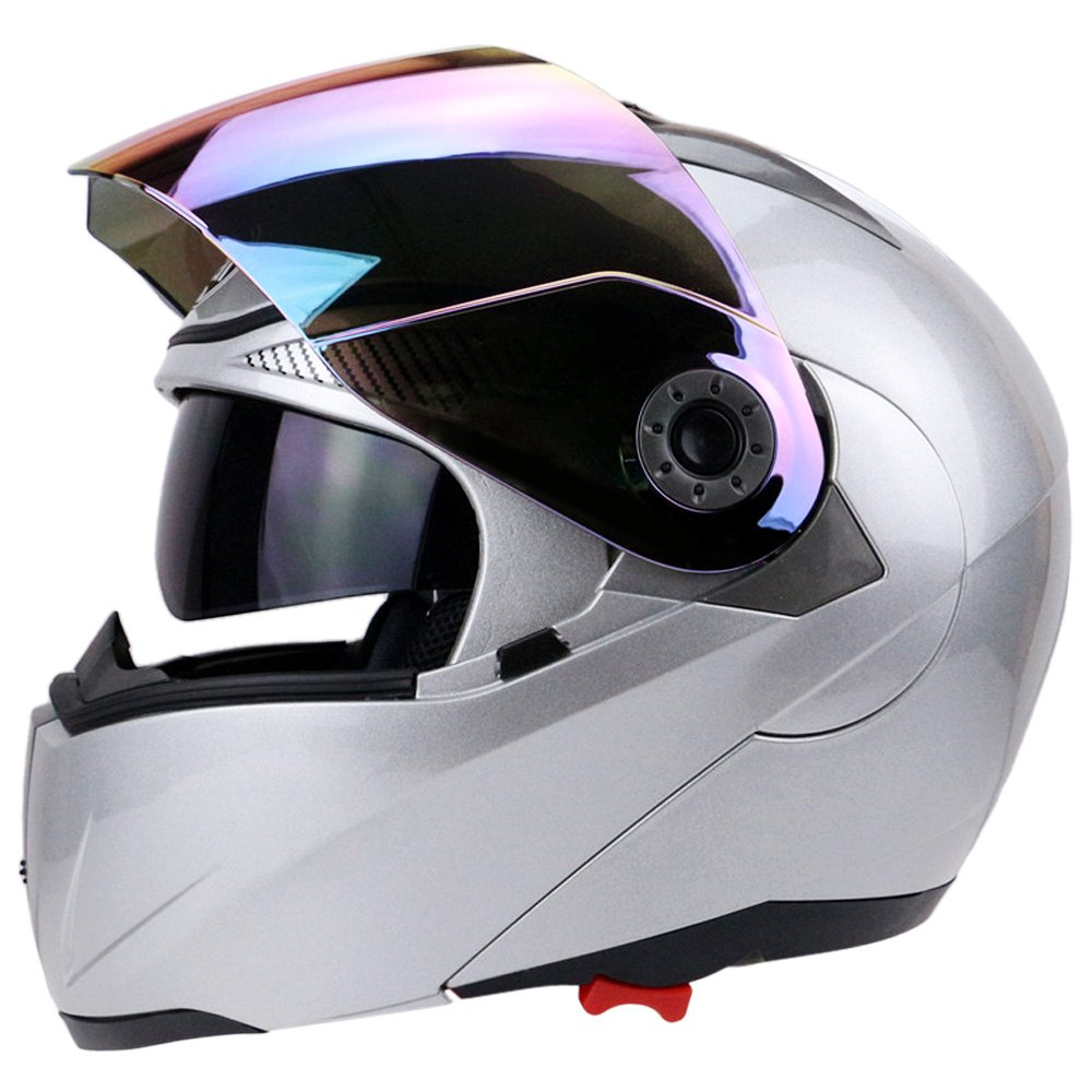 Best sales safe flip up helmet motorcycle helmet size m l for Best helmet for motor scooter