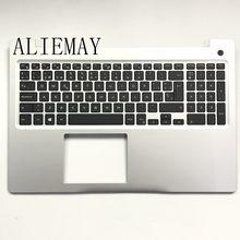 Nova marca SP teclado do laptop original para DELL INSPIRON15-5000 5570 5575 assembléia descanso de mãos/w SP teclado SLIVER
