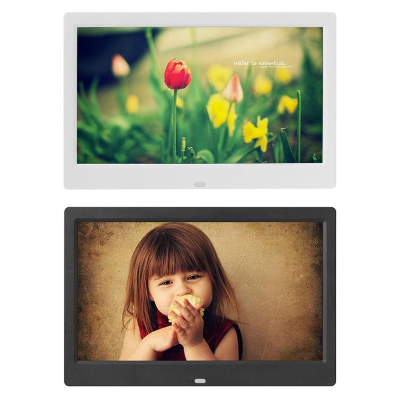 ALLOYSEED 10 дюймов цифровая фоторамка электронный фото-плеер видеоальбом экрана с 5 В 2A внешний источник питания постоянного тока
