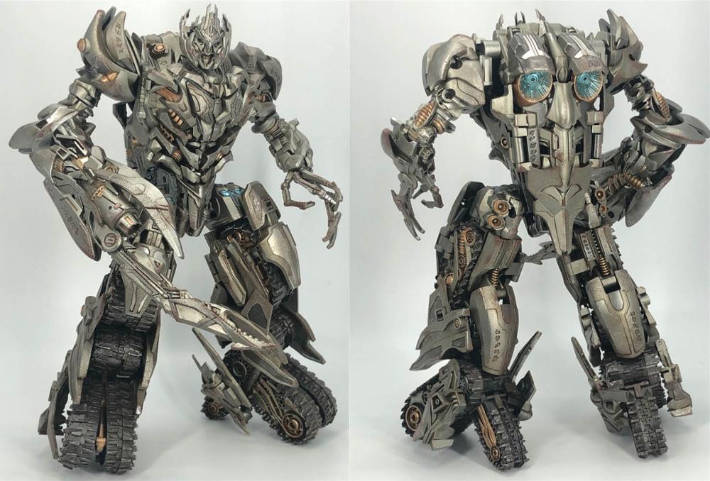 Oyuncaklar ve Hobi Ürünleri'ten Aksiyon ve Oyuncak Figürleri'de TFDREAM Dönüşüm TANRı 11 GOD11 Galvatron Megotroun MGTron Destroyer Film Lideri Aksiyon Figürü robot oyuncaklar'da  Grup 2